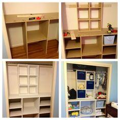 DIY Baby Closet Organizer #DIY #closetorganizer #organization
