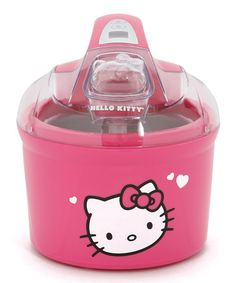 Visit The Home Depot to buy Hello Kitty Ice Cream/Frozen Yogurt/Sorbet Maker Hello Kitty Kitchen, Hello Kitty House, Hello Kitty Items, Here Kitty Kitty, Hello Kitty Baby Stuff, Sanrio Hello Kitty, Sorbet Maker, Hello Kitty Imagenes, 90s Childhood