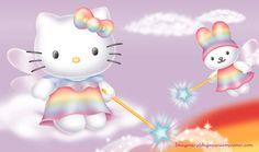 Hello kitty hada para imprimir | Imagenes y dibujos para imprimir