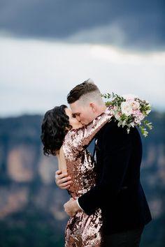 Glamorous Blue Mountains Elopement - Polka Dot Bride