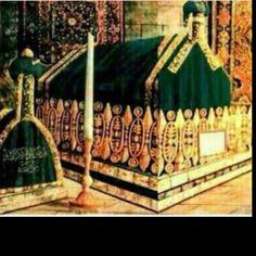 قبر اشرف الخلق محمد صلى الله عليه وسلم