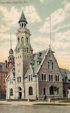 Original Racine WI post office.