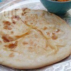 Cheesy naan bread @ allrecipes.co.uk