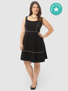 Squared Neck Dress