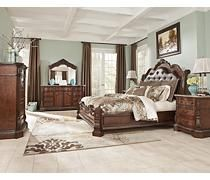 masterbedroom, bedroom sets, ashley bedroom furniture, ashley furnitur, hampton manor, master bedrooms, sleigh bedroom, color scheme, ledell sleigh