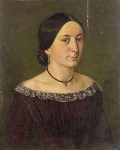 Original Biedermeier Damen-Portrait 1845 Öl auf Holz in Antiquitäten & Kunst, Malerei, Gemälde 1800-1899 | eBay