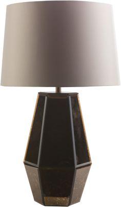 Ryden Glam Table Lamp Copper Cream