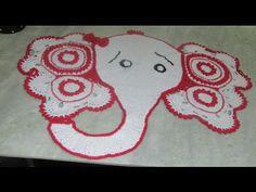Tapete Elefantinha Graciosa, 1ª parte ( Elephant Rug, part 1) - YouTube