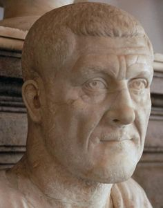 Maximinus Thrax - the 27th Emperor of Rome, and the first barbarian to become emperor. The first of 6 emperors of the year of the six emperors. His reign was the start of the Crisis of the 3rd Century. Maximinus Thrax took care of the legions but ignored the people.  He despised the Senate and other Roman aristocrats, and raised exorbitant taxes to pay the legions.