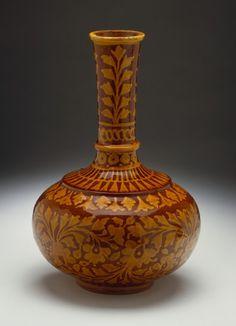 Water Vessel - Pakistan, Sindh, Hala, circa 1900 - Glazed ceramic