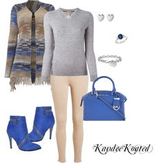 KandeeKoated by kandeegirl on Polyvore featuring polyvore fashion style Burberry Oui Chelsea & Zoe MICHAEL Michael Kors Cartier Blue Nile Links of London