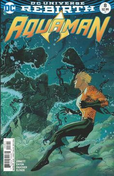 DC Aquaman Rebirth comic issue 8 Limited variant