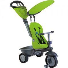 Carrinho Smart Trike Reclinável – Verde