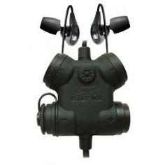 Silynx Clarus Headset, w/ Fixed Motorola XTS radio adaptor lead, Black Tactical Gear, Binoculars, Headset, Black, Compact, Audio, Profile, Technology, Accessories