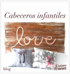 Cabeceros infantiles #Kids #Bedrooms