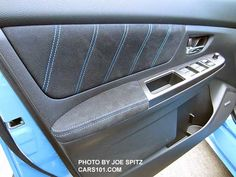 2016 Subaru STI interior photo page- STI, Limited, Series. 2016 Subaru Sti, 2016 Sti, Subaru Wrx, Wrx Sti, S Car, Interior Photo, Panel Doors, Stitching, Upholstery