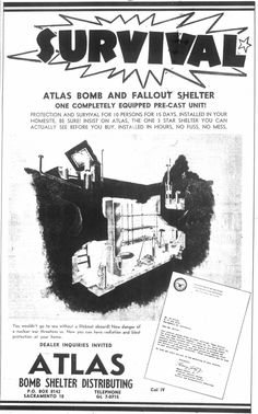Fallout Shelter ads - you might have to be underground for up to 2 weeks!