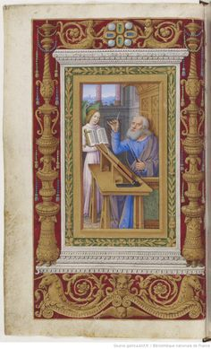 Heures à l'usage dominicain, dites Heures de Frédéric d'Aragon - manuscrit latin (ca1500)