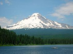 Mt. Hood - never fails to take my breath away. Love catching a surprise view of her on a drive.