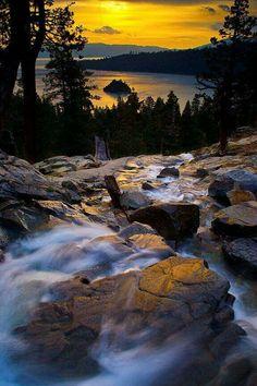 Emerald Bay Falls ....Lake Tahoe