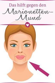 Der Marionetten-Mund entsteht, wenn die Mento-Labialfalten besonders ausgeprägt sind. Diese Übungen und Tricks helfen dagegen.