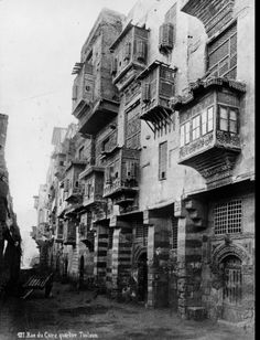 Toulon quarter of Cairo 1880