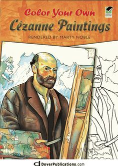 Color Your Own Cezanne Paintings