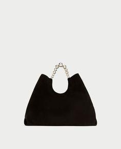 SPLIT SUEDE TOTE BAG-Large Bags-BAGS-WOMAN | ZARA United States