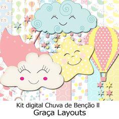 Kit digital Chuva de Benção 2