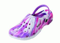 Betula clogs Gelato in size 36.0 N EU made of EVA in White Pink Purple with a narrow insole Betula. $29.19
