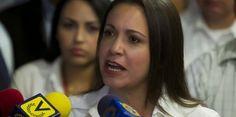 La sucursal del PSUV (TSJ) declara improcedente reincorporación de Machado a la AN