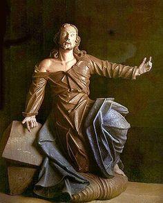 """ALEIJADINHO. """"Cristo no Horto das Oliveiras"""", na Via Sacra de Congonhas"""