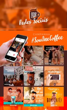 Confira este projeto do @Behance: u201cONE COFFEE // Social Mediau201d https://www.behance.net/gallery/54033199/ONE-COFFEE-Social-Media