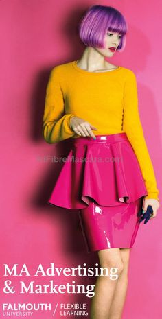 Study at the UKs No.1 Arts University from home. Discover how our MA in Advertising  Marketing can enhance your career. #latex #sexy #ladies #women #latexskirt #latexdominate #latexboss #shiny #fashion #latexshopping #buylatex #skirts