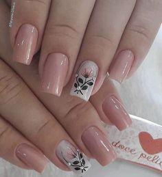 Elegant Nails, Classy Nails, Trendy Nails, Fall Nail Art Designs, Acrylic Nail Designs, Toe Nails, Pink Nails, Nails Only, Pretty Nail Art