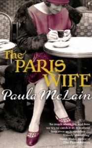 The Paris Wife by Paula McLain Historical fiction.  The story of Hadley Richardson and Ernest Hemingway.