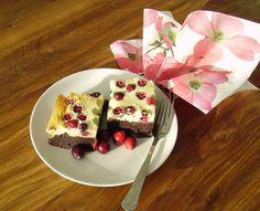Mia's Glutenfreie Gaumenfreuden: Glutenfreier Brownie-Cheesecake