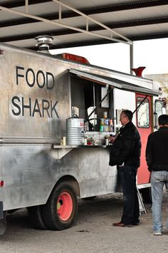 Food Shark Food Truck in Marfa, TX...went all the way down to Texas just to have this awesome food!!