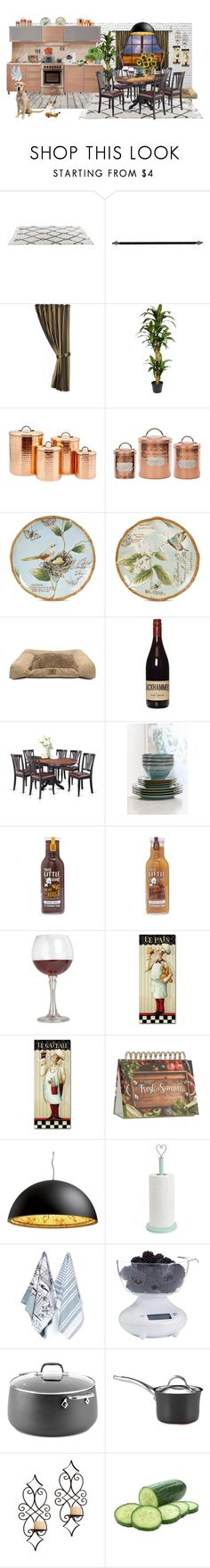 """""""Geen titel #878"""" by miriam-witte ❤ liked on Polyvore featuring interior, interiors, interior design, home, home decor, interior decorating, HiEnd Accents, Nearly Natural, Old Dutch and Fitz & Floyd"""