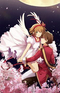 sakura and shaoran moon