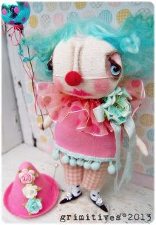 Sweet darling clown by grimitives