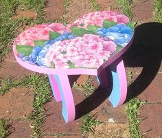 heart chair by Judy's Creative Doodling