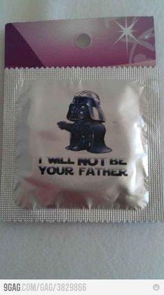 Vader condom.