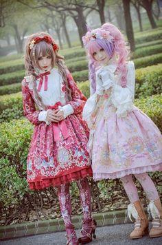 Me and playing Lolita. Japanese Street Fashion, Tokyo Fashion, Harajuku Fashion, Kawaii Fashion, Lolita Fashion, Cute Fashion, Kawaii Cosplay, Lolita Cosplay, Mode Lolita