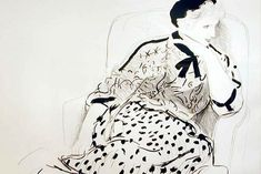 "David Hockney (b. 1937), ""Celia in an Armchair"", 1980. Lithograph"