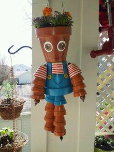 Terracotta Pot Crafts | Terra Cotta Pot-person | Flower Pot Crafts