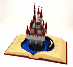POP UP BOOK 500x458 50 Incredible Examples of Lego Creations and Artwork