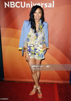 Jeannie Mai, Asian Ladies, Asian Celebrities, Peplum Dress, Celebrity, News, Summer, Movies, Beautiful