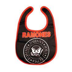 Ramones Bib