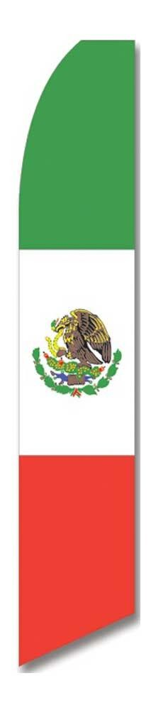what does mexican flag look like